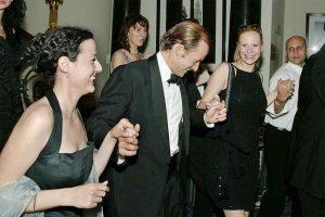 Prince Kyril dancing Bulgarian horo