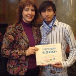 With Antoan awarded a Scholarship 2012